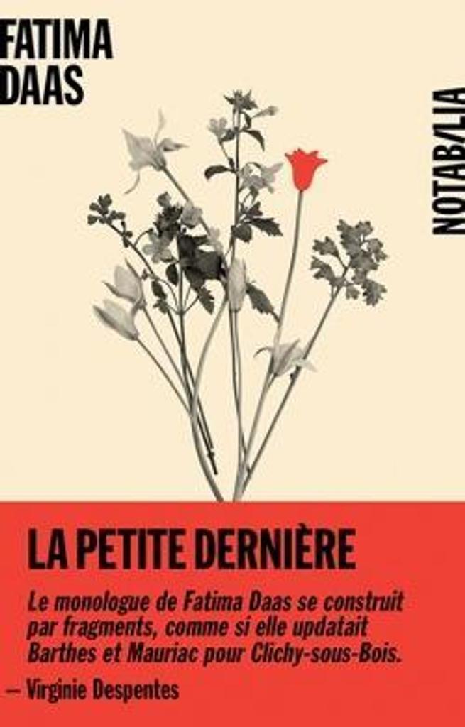 La petite dernière : roman / Fatima Daas | Daas, Fatima (1995-....). Auteur